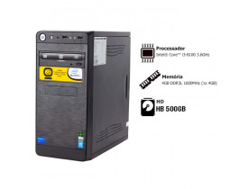 CPU CORE I3 4GB MEMORIA HD500GB GRAV. DVD 2G° GOLDENTEC