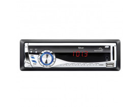 MP3 Player Automotivo Multilaser Silver - Rádio FM, Entradas USB, SD e AUX